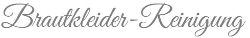 Brautkleider Reinigung Logo