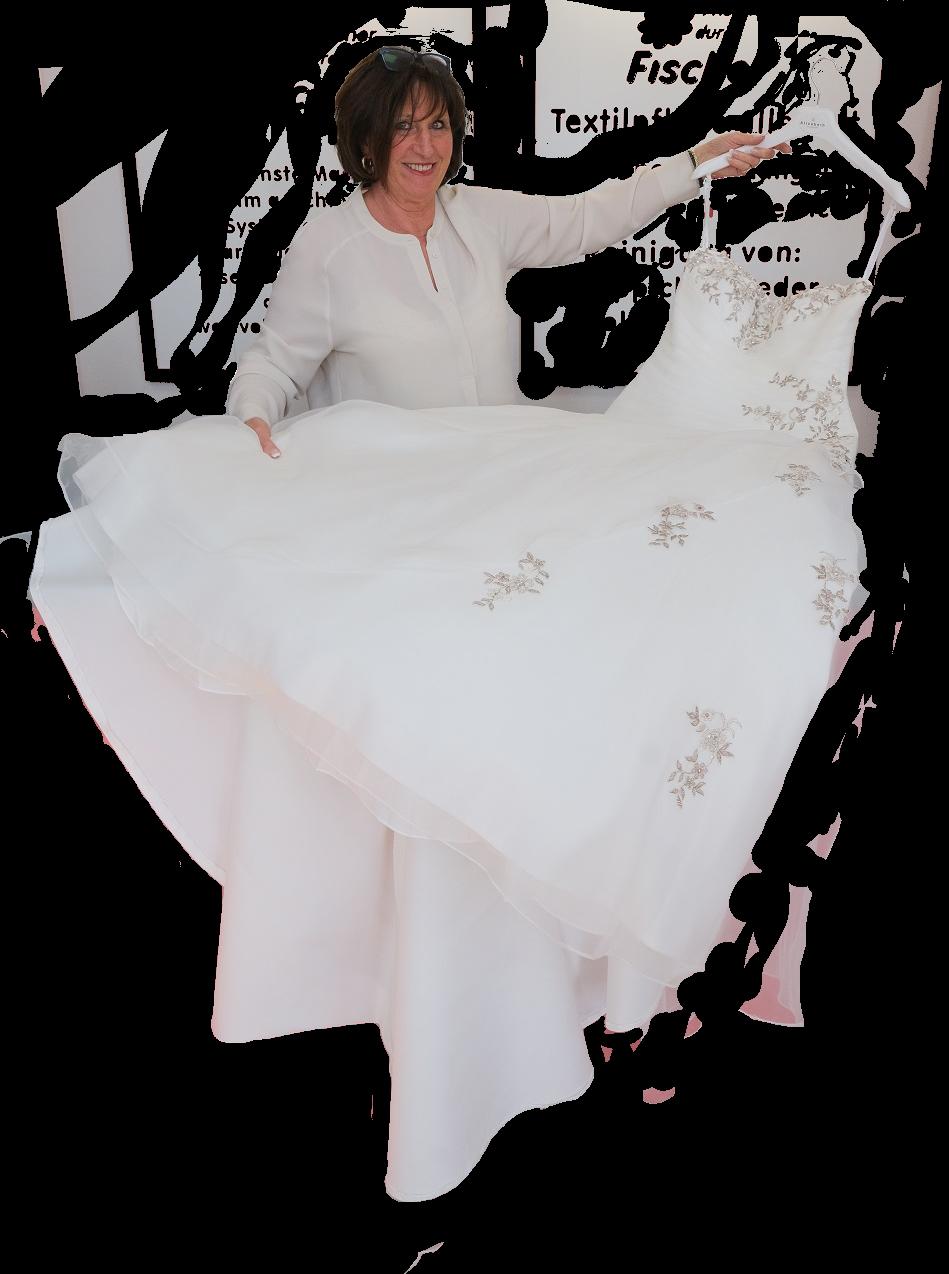 Wiederherstellung von Brautkleidern in Ennepetal